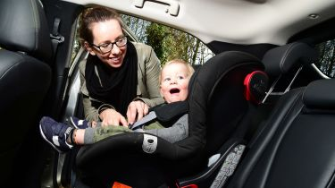 Mitsubishi Eclipse Cross long-term - final report car seat