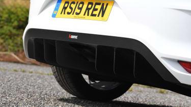 Renault Megane R.S. Trophy-R - rear diffuser