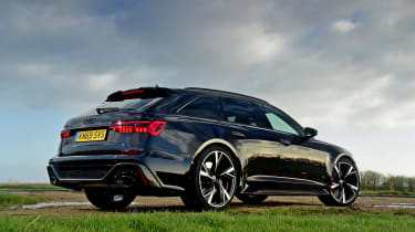 Audi RS 6 - rear static