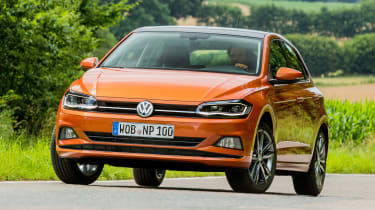 New Volkswagen Polo - front