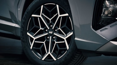 Hyundai Tuscon N Line - wheel