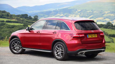 Used Mercedes GLC - rear