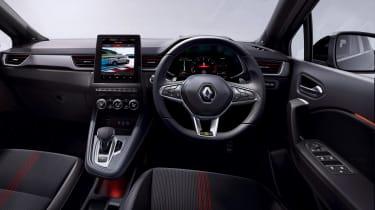 Renault Captur E-Hybrid - dash