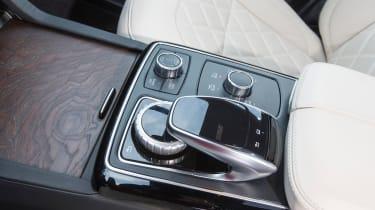 Mercedes GLS centre console