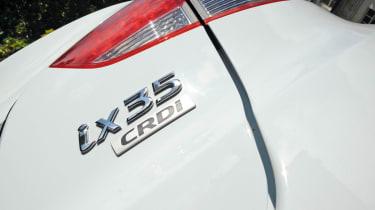 Hyundai ix35 badge