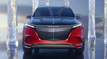 Mercedes-Maybach EQS SUV - full front