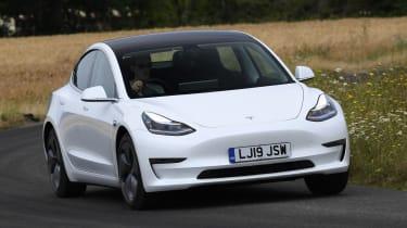 Tesla Model 3 - cornering