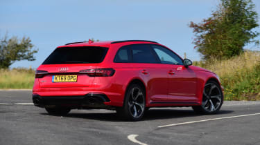 Audi RS 4 Avant long termer first report - rear