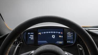 McLaren P1 dials