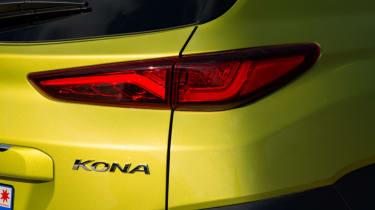 Hyundai Kona Premium SE 2017 - Kona badge