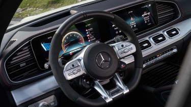 Mercedes-AMG GLE 53 Coupe - dash