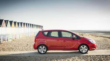 Vauxhall Meriva 2014 facelift - side