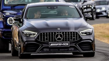 Mercedes-AMG GT four-door at Goodwood