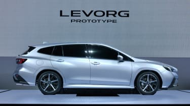 Subaru Levorg - side static