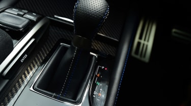 Lexus GS F - gear stick