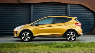 Ford Fiesta Active - side static