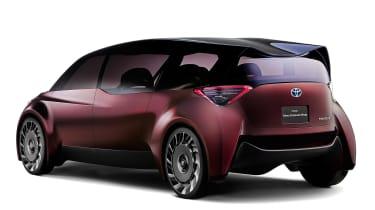 Toyota Fine-Comfort Ride concept - rear