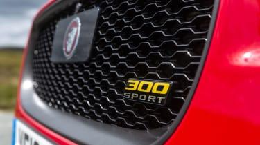 Jaguar XE 300 Sport - grille