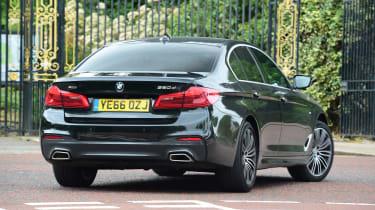 BMW 5 Series long termer - first report rear