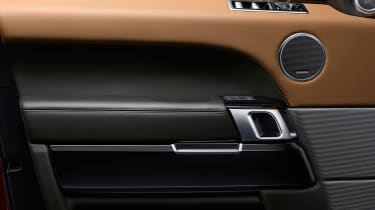 Range Rover Sport - door detail