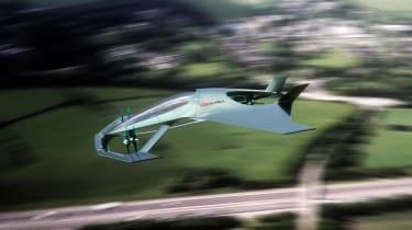 Aston Martin Vision Volante Concept - flying