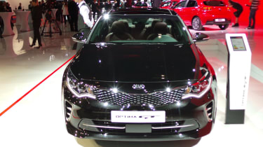 New Kia Optima GT nose