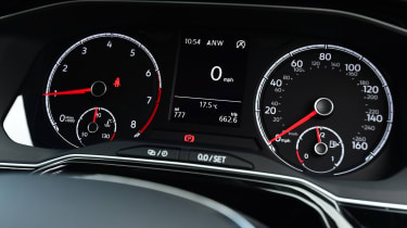 vw polo instruments