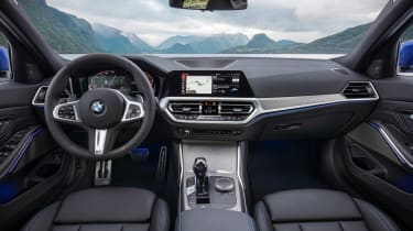 BMW 3 Series - blue dash