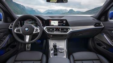 BMW 3 Series - blue dash