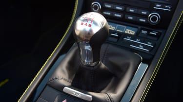Porsche Boxster T - gearstick