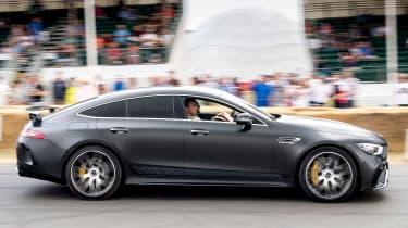 Mercedes-AMG GT four-door side profile