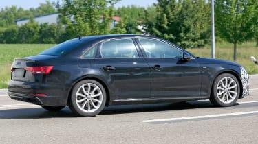 Audi A4 facelift - side/rear