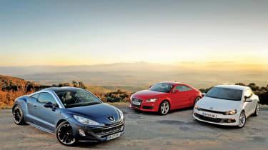 Peugeot RCZ vs rivals