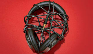 tangled headphones