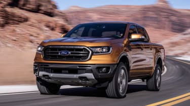 Ford Ranger - front