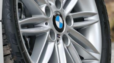 BMW 118d Convertible wheel