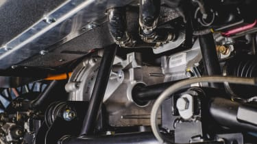 Electric MGB - motor