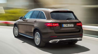 Mercedes GLC - rear action