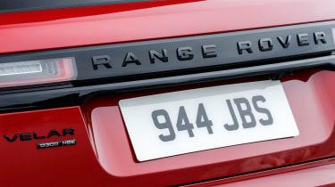 Range Rover Velar - rear detail