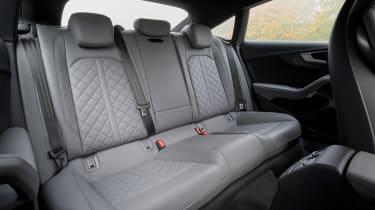 Audi S5 Sportback - rear seats