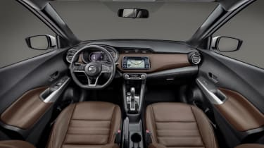 Nissan Kicks SUV - interior