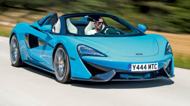 Best new cars of 2017: our road tests of the year - McLaren 570S Spider
