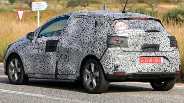 Renault Clio - spy rear