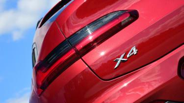 BMW X4 - taillight
