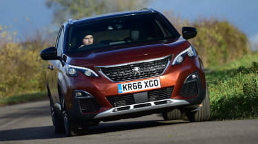 3008 minutes in a Peugeot 3008 - front cornering 2