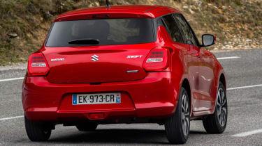 New Suzuki Swift 2017 - Vosper rear cornering