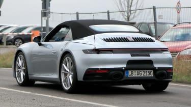 New Porsche 911 Cabriolet - spyshot 8
