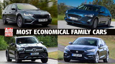 Most economical family cars