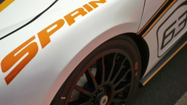 McLaren 570S Sprint - wheelarch