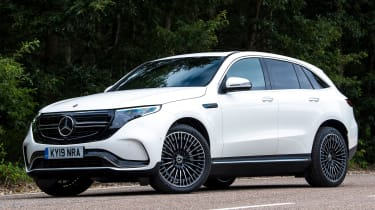 Mercedes EQC - front static